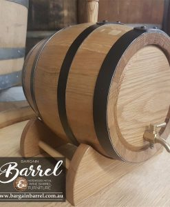 Bargain Barrel Wine Barrel Furniture Sales – 5Lt Oak Wine Barrel Image 1