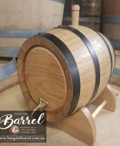 Bargain Barrel Wine Barrel Furniture Sales – 5Lt Oak Wine Barrel Image 2