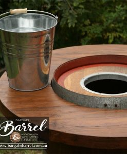 Bargain Barrel Wine Barrel Furniture Sales – Barrel Bar Chiller Image 4
