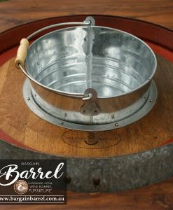 Bargain Barrel Wine Barrel Furniture Sales – Barrel Bar Chiller Image 6