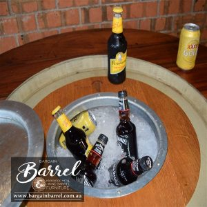 Bargain Barrel Wine Barrel Furniture Sales – Barrel Bar Esky Image 1