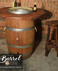 Bargain Barrel Wine Barrel Furniture Sales – Barrel Bar Esky Image 3