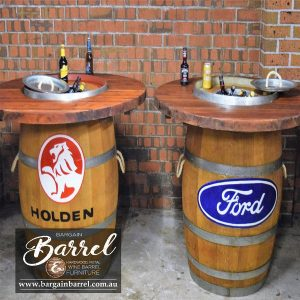 Bargain Barrel Wine Barrel Furniture Sales – Barrel Bar Esky Logo Image 1