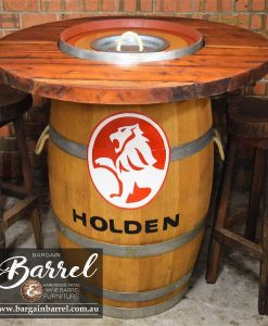 Bargain Barrel Wine Barrel Furniture Sales – Barrel Bar Esky Logo Image 2