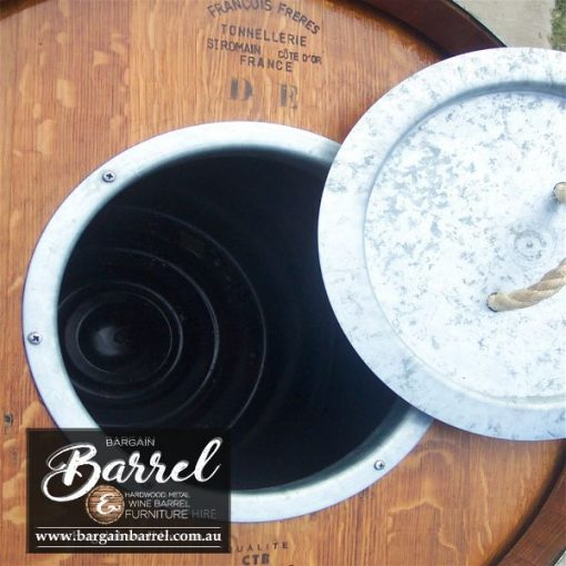 Bargain Barrel Wine Barrel Furniture Sales – Barrel Bar Esky Logo Image 6