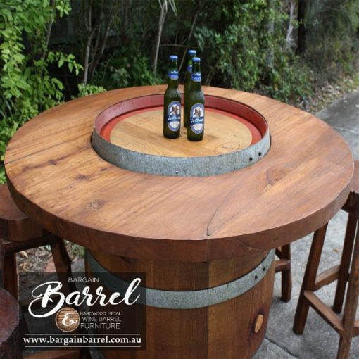 Bargain Barrel Wine Barrel Furniture Sales – Barrel Bar Image 1