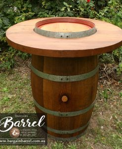 Bargain Barrel Wine Barrel Furniture Sales – Barrel Bar Image 2