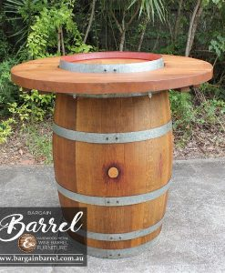 Bargain Barrel Wine Barrel Furniture Sales – Barrel Bar Image 3
