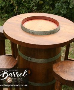 Bargain Barrel Wine Barrel Furniture Sales – Barrel Bar Image 4