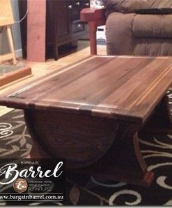Bargain Barrel Wine Barrel Furniture Sales – Coffee Barrel Bench Image 2