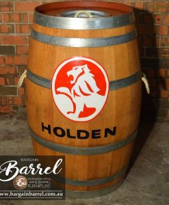 Bargain Barrel Wine Barrel Furniture Sales – Esky Logo Barrel Image 1