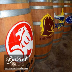 Bargain Barrel Wine Barrel Furniture Sales – Esky Logo Barrel Image 2