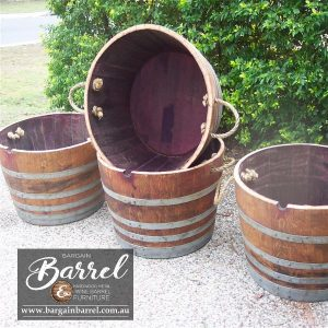 Bargain Barrel Wine Barrel Furniture Sales – Half Barrel C&C Image 2