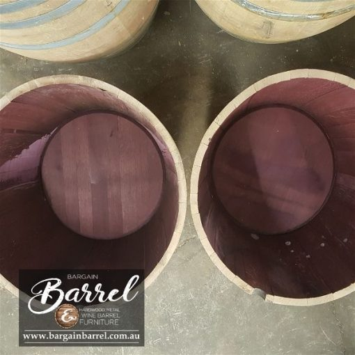 Bargain Barrel Wine Barrel Furniture Sales – Half Wine Barrel Image 4