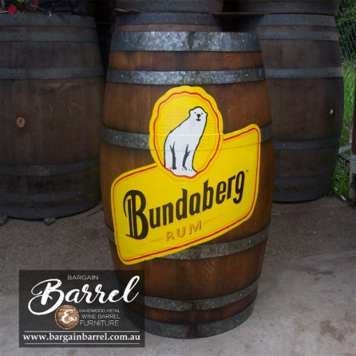 Bargain Barrel Wine Barrel Furniture Sales – Logo Barrel Image 2