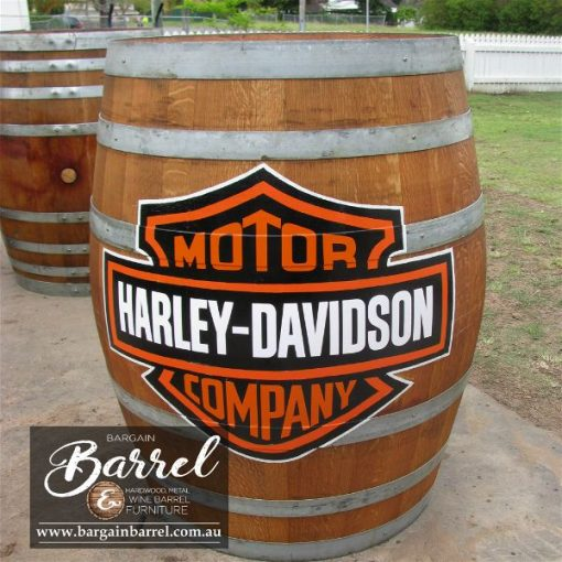 Bargain Barrel Wine Barrel Furniture Sales – Logo Barrel Image 5
