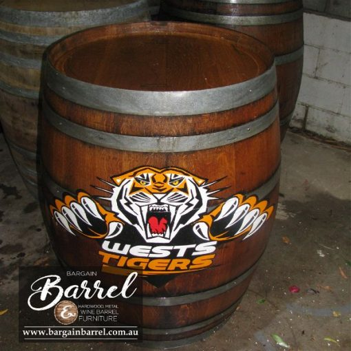 Bargain Barrel Wine Barrel Furniture Sales – Logo Barrel Image 6