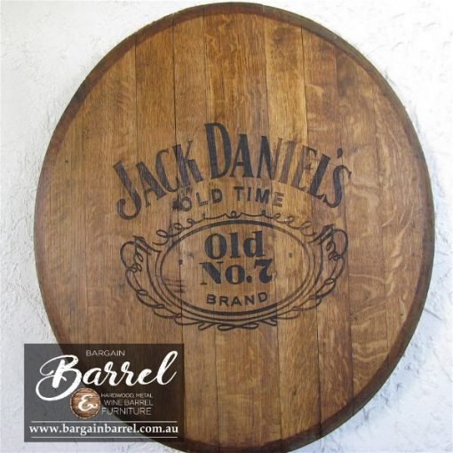 Bargain Barrel Wine Barrel Furniture Sales – Oak Lid Logo Image 1