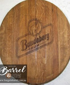 Bargain Barrel Wine Barrel Furniture Sales – Oak Lid Logo Image 2
