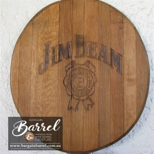 Bargain Barrel Wine Barrel Furniture Sales – Oak Lid Logo Image 3
