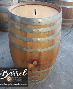 Bargain Barrel Wine Barrel Furniture Sales – Raffle Barrel Image 1