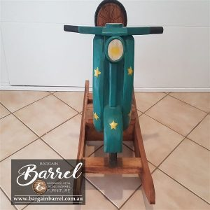 Bargain Barrel Wine Barrel Furniture Sales – Rocking Bike Image 1