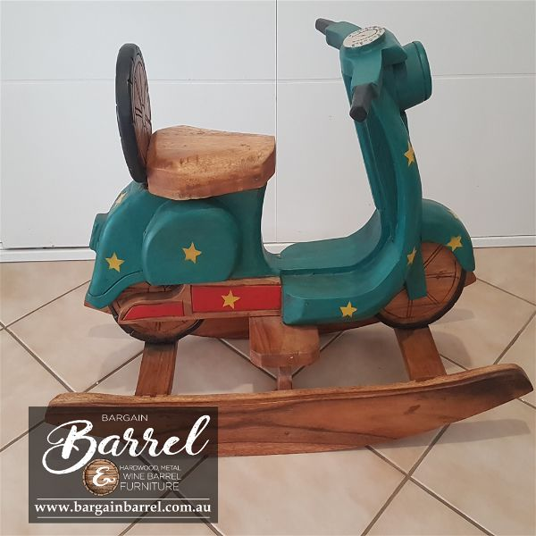 Bargain Barrel Wine Barrel Furniture Sales – Rocking Bike Image 4
