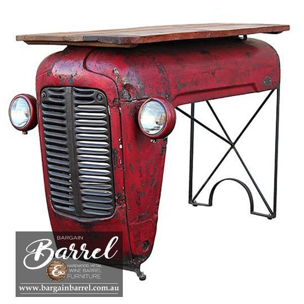 Bargain Barrel Wine Barrel Furniture Sales – Tractor Bar Shelve Only Image 3