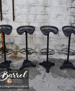 Bargain Barrel Wine Barrel Furniture Sales – Tractor Stool Image 1