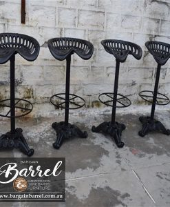 Bargain Barrel Wine Barrel Furniture Sales – Tractor Stool Image 2