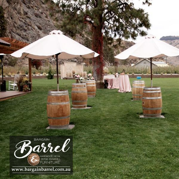 Bargain Barrel Wine Barrel Furniture Sales – Umbrella Barrel Image 3