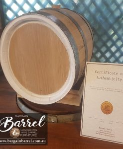 Bargain Barrel Wine Barrel Furniture Sales – 50Lt Oak Barrel Image 1