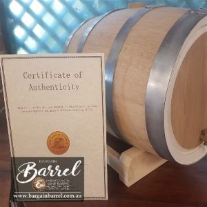 Bargain Barrel Wine Barrel Furniture Sales – 25L Oak Barrel Image 1