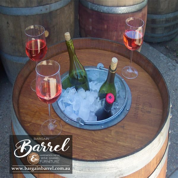 Bargain Barrel Wine Barrel Furniture Sales – Chiller Barrel Image 1