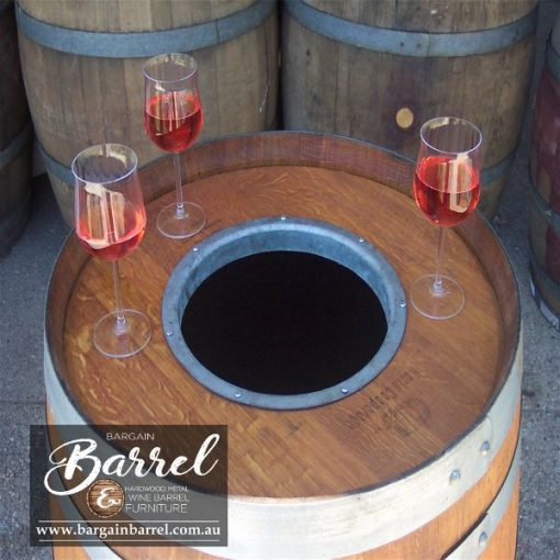 Bargain Barrel Wine Barrel Furniture Sales – Chiller Barrel Image 3