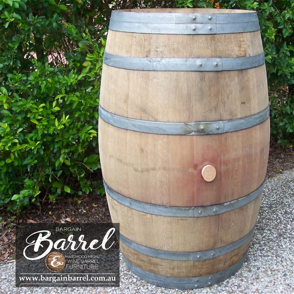 Bargain Barrel Wine Barrel Furniture Sales – Clean Wine Barrel Image 1