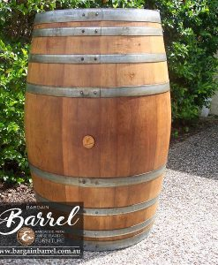 Bargain Barrel Wine Barrel Furniture Sales – Clean and Coated Image 1