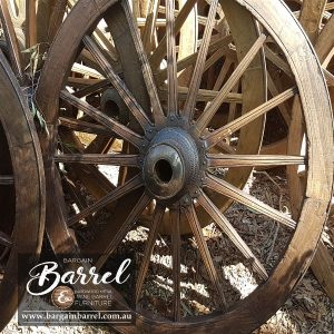 Bargain Barrel Wine Barrel Furniture Sales – Wagon Wheel Image 2