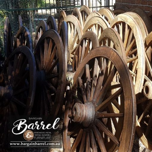 Bargain Barrel Wine Barrel Furniture Sales – Wagon Wheel Image 3