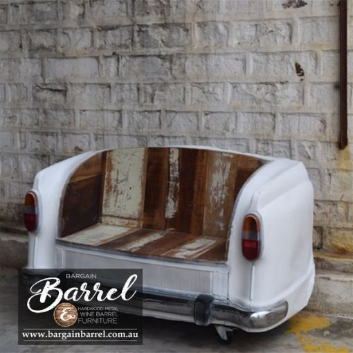 Bargain Barrel Wine Barrel Furniture Sales – Car Bench Seat Image 2