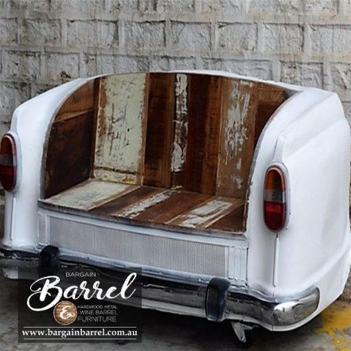 Bargain Barrel Wine Barrel Furniture Sales – Car Bench Seat Image 3