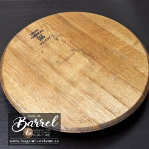 Bargain Barrel Wine Barrel Furniture Sales – Oak Lid Joined Image 1