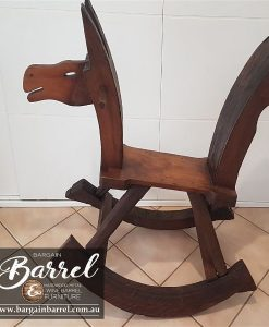 Bargain Barrel Wine Barrel Furniture Sales – Rocking Horse Image 1