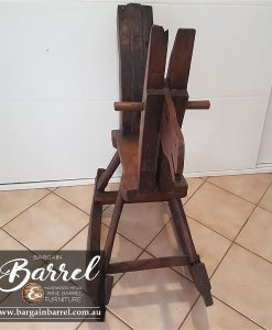 Bargain Barrel Wine Barrel Furniture Sales – Rocking Horse Image 2