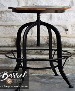 Bargain Barrel Wine Barrel Furniture Sales – Swivel Stool Image 2