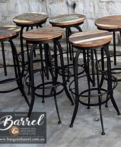 Bargain Barrel Wine Barrel Furniture Sales – Swivel Stool Image 3