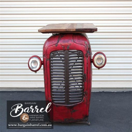 Bargain Barrel Wine Barrel Furniture Sales – Tractor Bar Shelve & Wine Rack Image 3