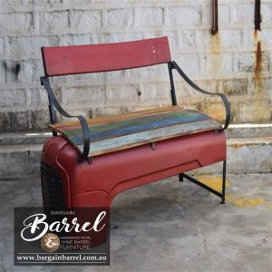 Bargain Barrel Wine Barrel Furniture Sales – Tractor Bench Seat Image 1