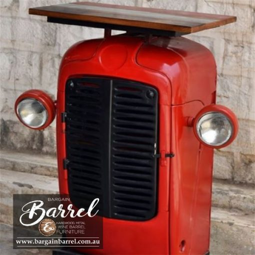 Bargain Barrel Wine Barrel Furniture Sales – Tractor Cabinet Image 1