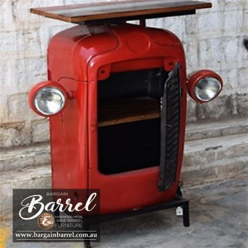 Bargain Barrel Wine Barrel Furniture Sales – Tractor Cabinet Image 2